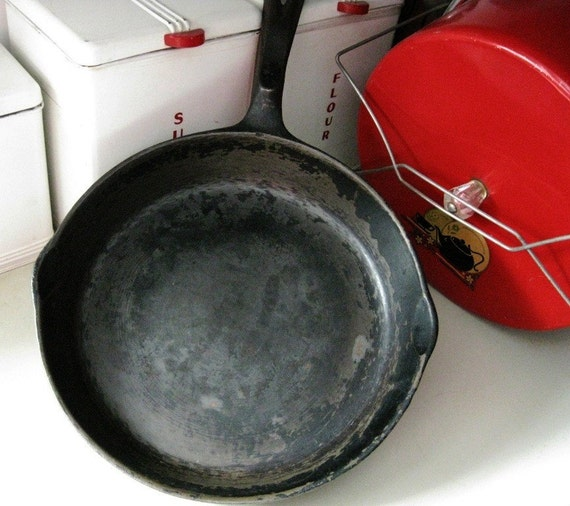 Vintage 10 1 2 Inches Wagner S 1891 Original Cast Iron