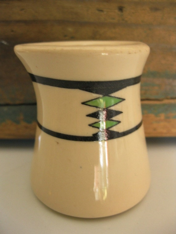 Vintage Diner/Restaurant Creamer, Iro-Tan Ware, Iroquois China, Great Design