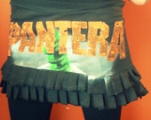 PANTERA Mini Skirt MZ OOAK