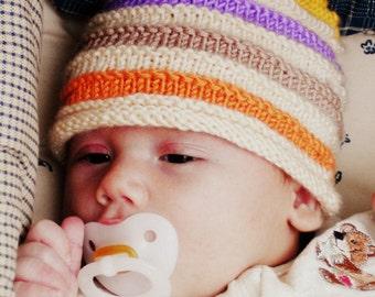 Newborn Spring Baby Beanie Photo Prop