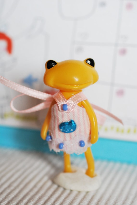 fortune wanda wonder frog dress tiny mini baby wonderfrog