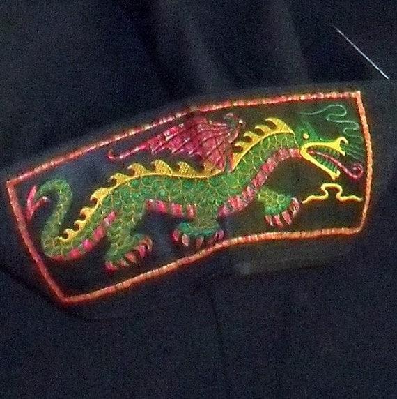 Rare US Navy Jumper with Liberty Cuffs Sea Dragon Dress Uniform