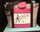 Custom Order for Barbi Ramsey Tote bag and 2 eye glass cases.