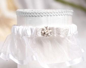 Winter Woodland Wedding Garter - 500106