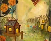 Original Fine Art Painting - Secrets of the Orient