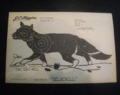 Vintage Shooting Target/Fox II
