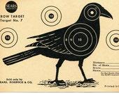 Vintage Shooting Target / Crow II