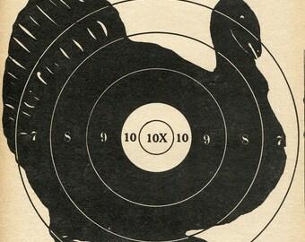 Vintage Shooting Target/Turkey II