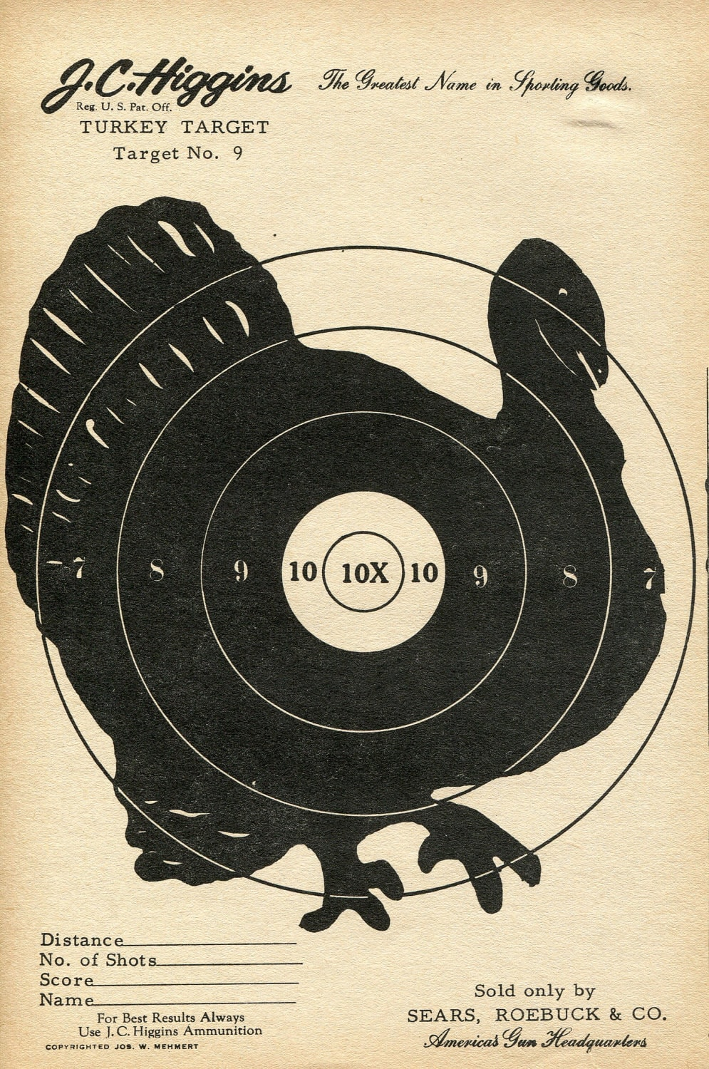 Unforgettable image for free printable turkey shoot targets