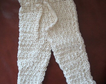 Organic Cotton Hand-Stitched Summer Baby Pants - 196