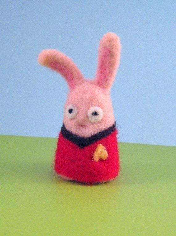 Expendable Bun Wool Figure