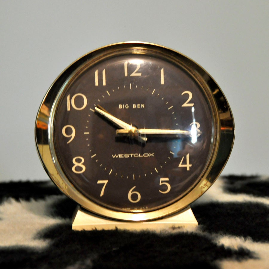 Westclox Big Ben Wind Up Alarm Clock