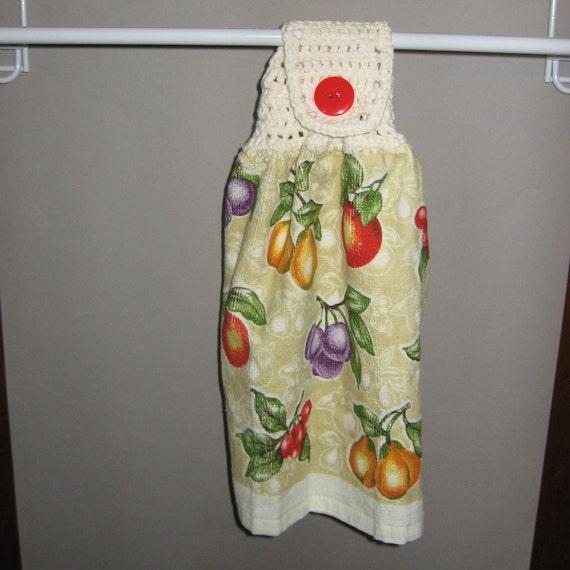 Colorful Fruit Crocheted TopTowel-KOE26