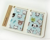 Magnetic Fabric Bookmarks - Animal Yearbook -