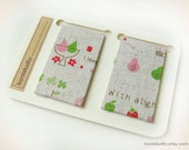 Magnetic Fabric Bookmarks - Natural Blessing -