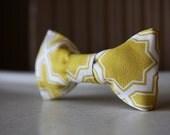 Mustard Yellow Child Size Bow Tie- Modern- Velveeta-LAST ONE