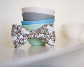 Paisley Bow Tie for Boy or Baby Clip on