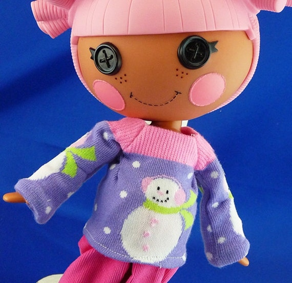 "Lalaloopsy ""Snowman Sweater "" and Corduroy Trousers  Darling Chris"