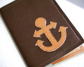 Anchors Away Passport Cover