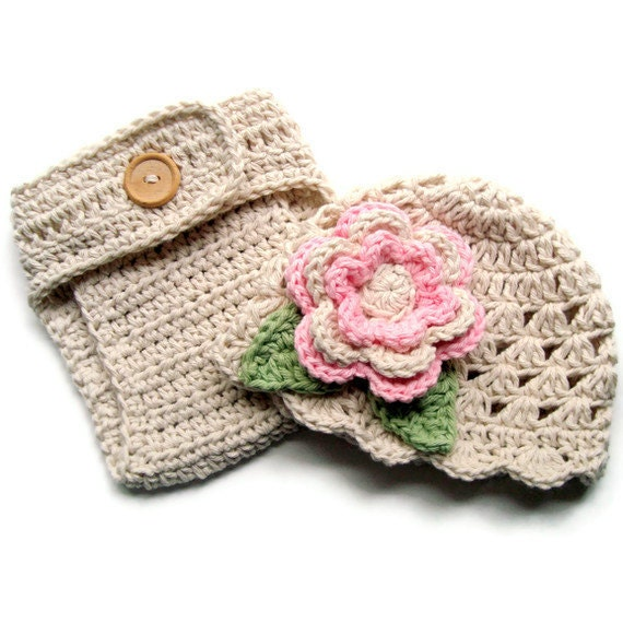 Book Cover Crochet Hats : Crochet baby hat diaper cover girl and