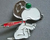 Vintage Snoopy Brooch ((Free Shipping WorldWide))