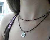 Lotus Necklace...FREE SHIPPING