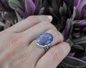 SALE WAS 54 NOW 42...PURPLE HAZE STACKING RING US SIZE 6.5...FREE SHIPPING..