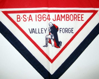 1964 Boy Scouts Valley Forge Jamboree neckerchief