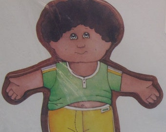 Vintage Cabbage Patch Kids gift wrap or paper dolls