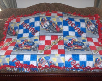 Motorcycle Blanket Etsy
