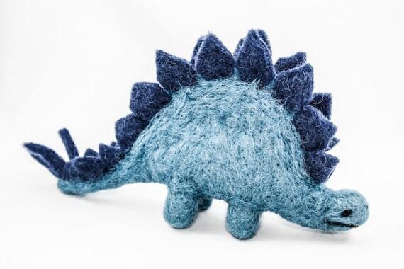 Felt Dino - Stegosaurus (Blue)