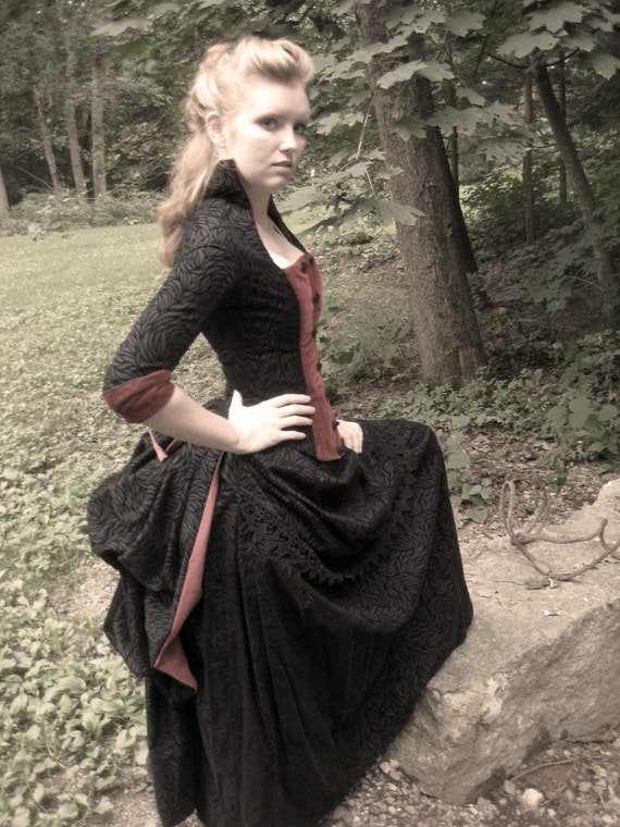Reserved For Melmel29 Victorian Vampire Bustle By