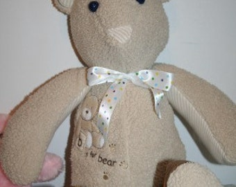 Custom Baby Clothes Bear