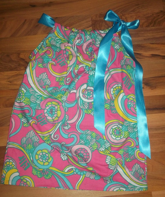 Ladies top made with Lilly Pulitzer Shall we Dance fabric