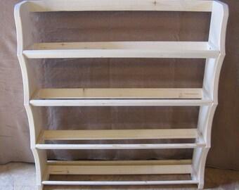 Ribbon rack 4 shelf