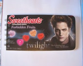 Twilight recycled Candy Box Notebook