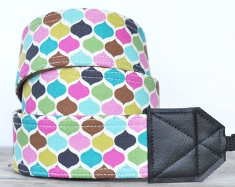 MADE TO ORDER - Camera Strap - Fancy Ornaments