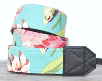 MADE TO ORDER - Camera Strap - Bliss Bouquet