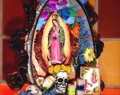 Day of the Dead Shrine - OOAK