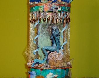 Little Mermaid Mini Theatre OOAK Multi-Level