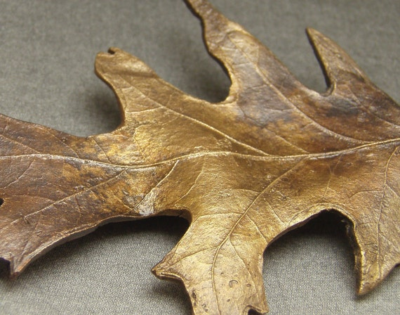 Large Oak Leaf Brooch/Pin