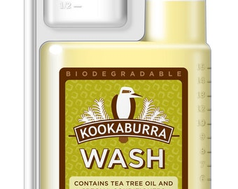 Kookaburra Wool Wash- Regular or New with Lavendar - 16 ounces