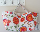 Large Tote Bag for the Beach, Market or Park