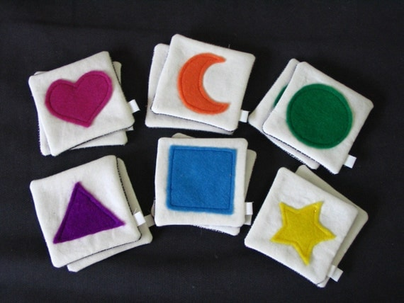 Fabric Match Game Cards - SALE