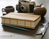 Letterpress Wooden handcrafted Sketch/Journal Book