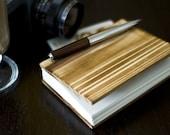 Small Cedar Wooden Coptic Notebook/Journal