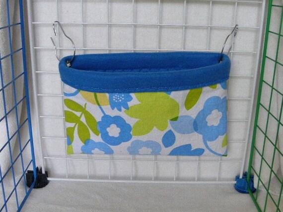 RAT SAC Pocket - Blue Flowers