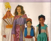 Butterick Pattern 3049 - Child's/Boy's/Girl's Harem & Sultan Costumes