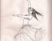 Najla's Accent Skirt Pattern by Jehlor  (Vintage)