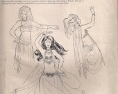 Sirane's Skirts and Salome's Veils Patterns by Jehlor  (Vintage)